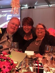 From left to right: Former CEO and Chairman of the Board of the Museum of Flight and Co-Chair of the Gala, Mike Hallman, President and CEO of The Keller Group, Lee Keller, and Mary Kay Hallman