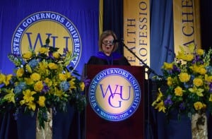 WGU Washington Chancellor, Jean Floten