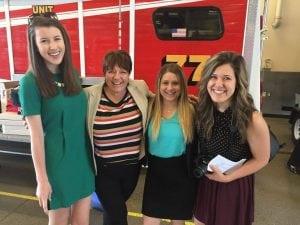 The Keller Group team from left to right: Margo Jasukaitis, Lee Keller, Sarah Nolan, and Kelsey Beer